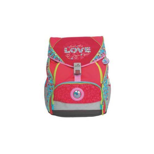 Derdiedas plecak-zestaw ergoflex xl - love, 5-częściowy