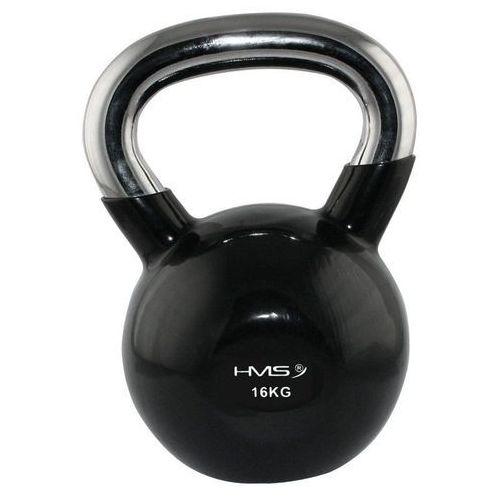 Hantla gumowana kettlebell 16 kg -  - 16 kg marki Hms