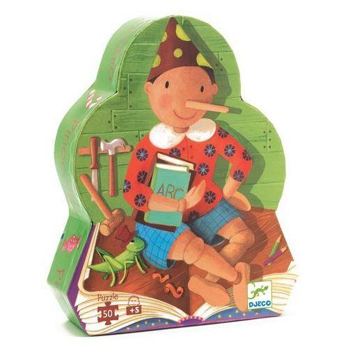 Djeco, Pinokio, DJ07251, puzzle w pudełku - postaci