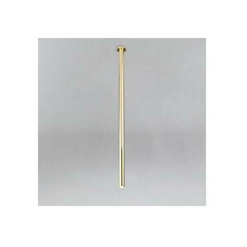 Podtynkowa LAMPA sufitowa ALHA T 9060 Shilo metalowa OPRAWA do zabudowy sopel tuba mosiądz (5903689990608)