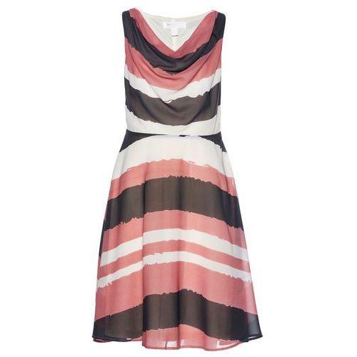 1b84cf5aa0 Sukienka Premium bonprix szaro-dymny brz.