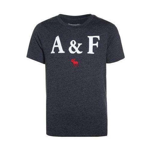 Abercrombie & Fitch CORE TECH LOGO Tshirt z nadrukiem navy