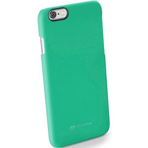 Etui CELLULAR LINE Rigid Satin do Apple iPhone 6/6S Zielony
