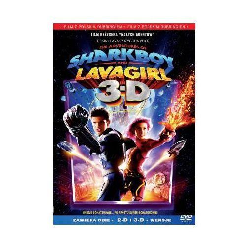 Imperial cinepix / columbia tristar / sony pictures Rekin i lava 3d (dvd) - hugo rodriguez