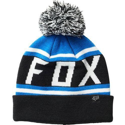 czapka zimowa FOX - Throwback Beanie Blk/Blu (013) rozmiar: OS