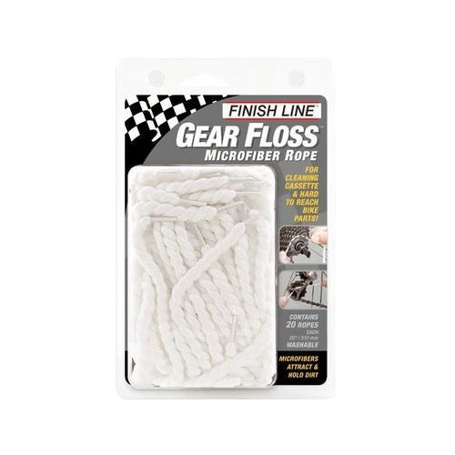 Sznur do czyszczenia Finish Line Gear Floss 20 szt.