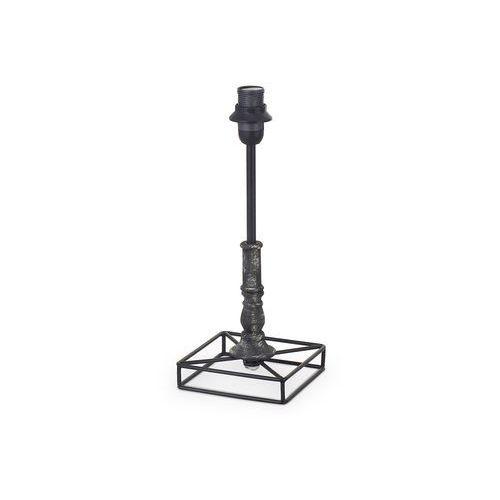 Podstawa lampy Eglo 1+1 49346 Vintage lampka oprawa stołowa 1x40W E14 czarny/patyna (9002759493462)