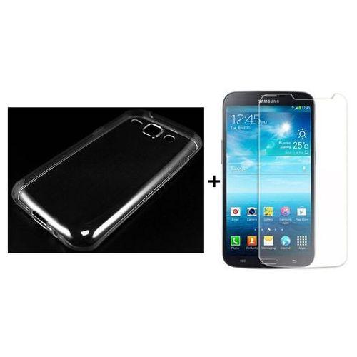 Ultra slim / perfect glass Zestaw szkło ochronne perfect glass + obudowa ultra slim przezroczysta samsung galaxy j1