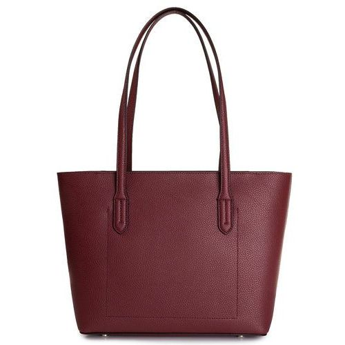 Torebka DKNY - Noho Ew Tote Pebble R92AHC35 8Fd Bld Red/Fatigue