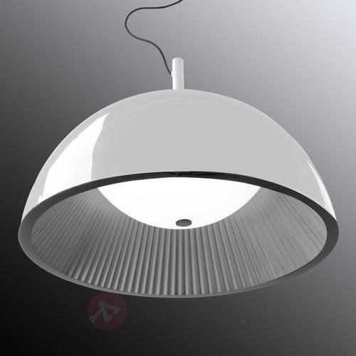 Leds-c4 umbrella lampa wisząca srebrny, biały, 3-punktowe - nowoczesny - obszar wewnętrzny - umbrella - czas dostawy: od 2-3 tygodni (8435111062821)