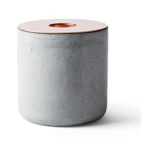 Menu - świecznik chunk of concrete - wysoki