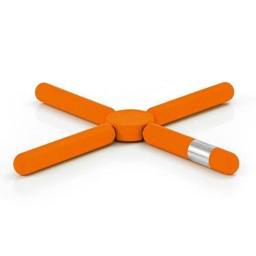 Blomus - Knik - składana podstawka pod gorace naczynia - pomarańczowa - Pomarańczowy