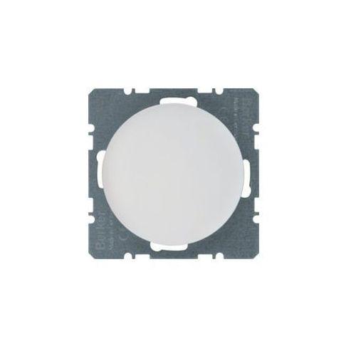 Berker r.1/r.3 zaślepka z płytką czołową biały, połysk 10092089 (4011334367048)