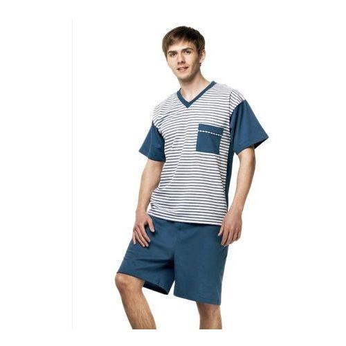 Piżama dżentelmen 2071 rozmiar: xl(188/114/98-102), kolor: wielokolorowy, kuba marki Kuba