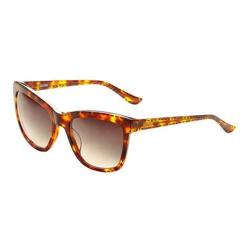 Okulary przeciwsłoneczne damskie -mo759s-65 marki Moschino