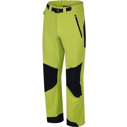 Hannah  spodnie turystyczne gramado lime punch/anthracite l
