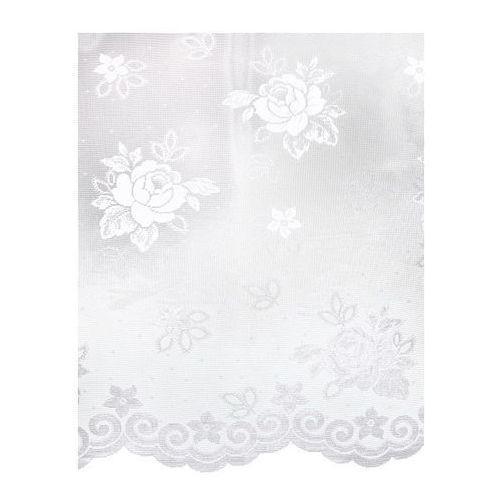 Firana żakardowa Niemen 170 cm biała, kolor biały