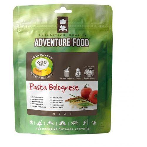 pasta bolognese żywność kempingowa jedna porcja żywność turystyczna wyprodukowany przez Adventure food
