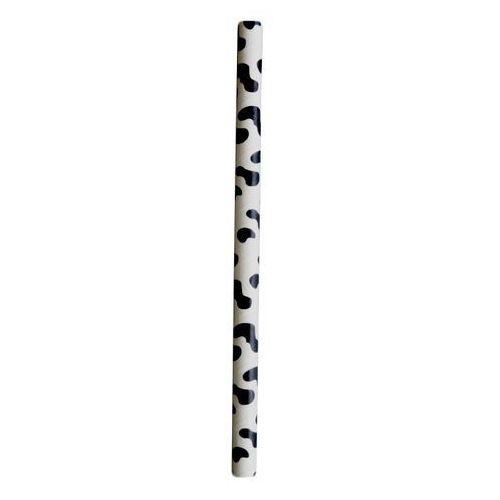 Słomki papierowe łaciate