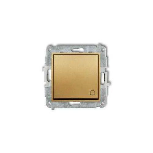 Przycisk dzwonek Karlik Mini 29MWP-4 złoty, 29MWP-4