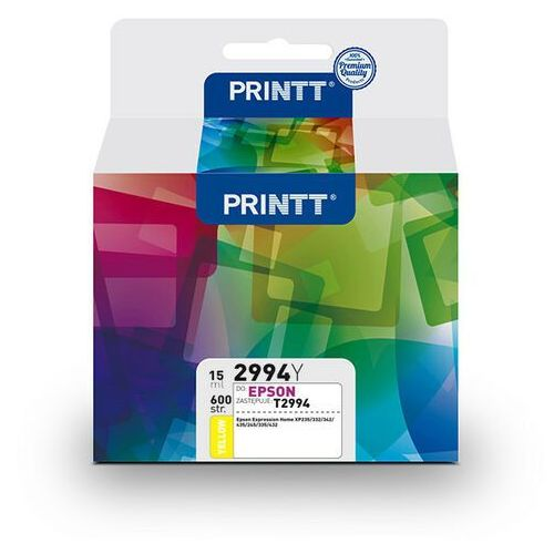 Tusz PRINTT do EPSON NAE2994Y (T2994) yellow 15 ml