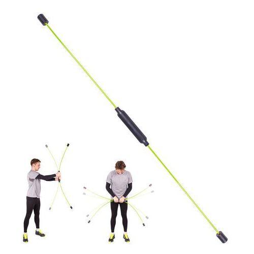 Drążek drgający do ćwiczeń i aerobiku inSPORTline Flexi Bar Easy (8596084059048)