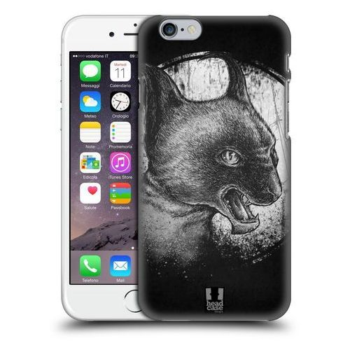 Etui plastikowe na telefon - CATS OF GOTH BLACK AND GREY, kolor czarny
