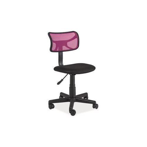 Signal Fotel obrotowy, krzesło biurowe q-014 pink