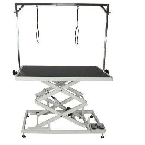 Stół z podnośnikiem elektrycznym, blat 125x65 cm, regulacja wys. 27x113cm