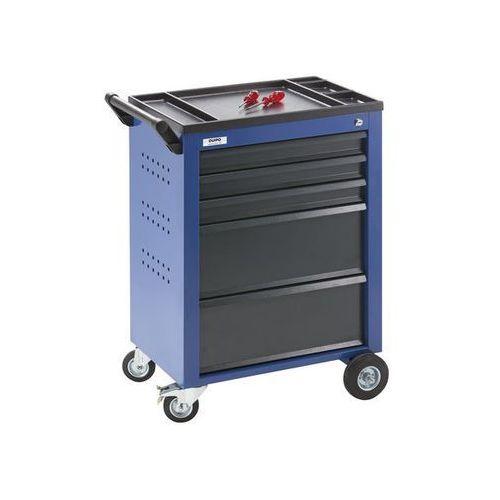 Wózek narzędziowy,5 szuflad z pojedynczą blokadą marki Quipo