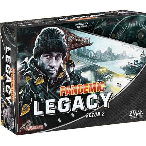 Lacerta Pandemic legacy (pandemia) - sezon 2 - edycja czarna - darmowa dostawa kiosk ruchu