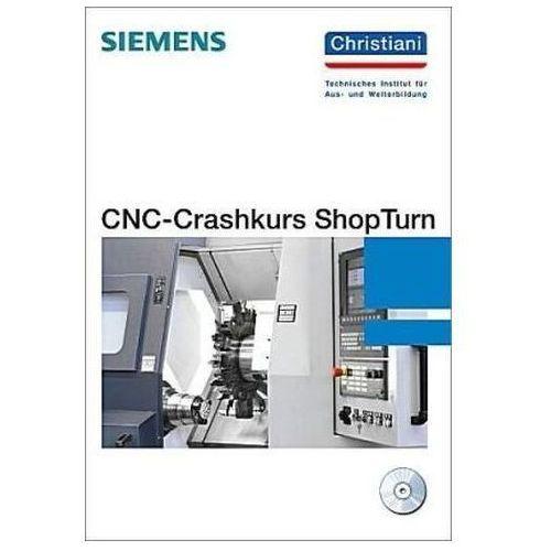 CNC-Crashkurs-ShopTurn, m. CD-ROM - OKAZJE