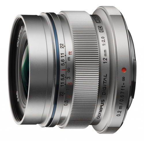 Olympus M.Zuiko Digital ED 12 mm f/2.0 - srebrny (4545350036416)