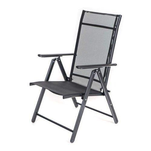 Happy Green Krzesło ogrodowe RAMONA 57 × 68 × 106 cm, antracyt