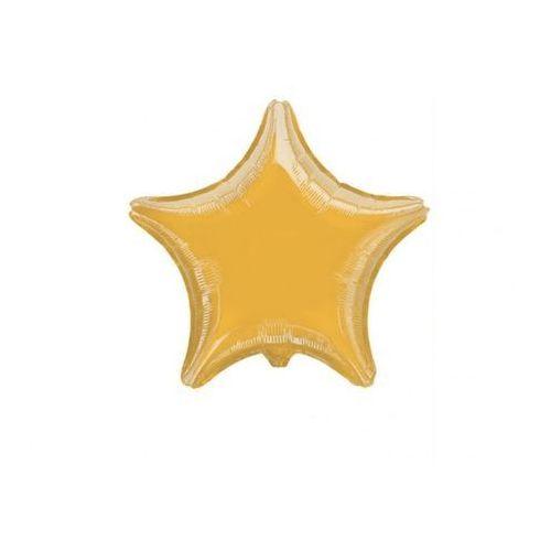 Party deco Balon foliowy gwiazda złota - 48 cm - 1 szt.