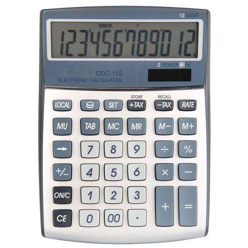Kalkulator Citizen CDC-112 12 cyfrowy szary (4562195133001)