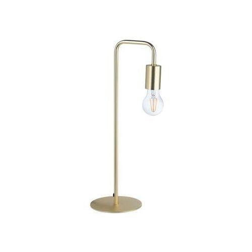 Lampa stołowa lana 60w e27 złota marki Inspire