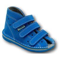Buty profilaktyczne  wzór 012n, kolor błękit marki Adamki