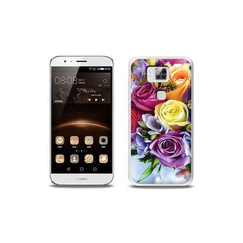 Foto Case - Huawei GX8 - etui na telefon Foto Case - bukiet kwiatów (Futerał telefoniczny)