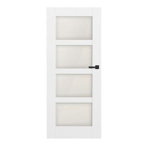 Drzwi pokojowe Connemara 90 lewe kredowo-białe