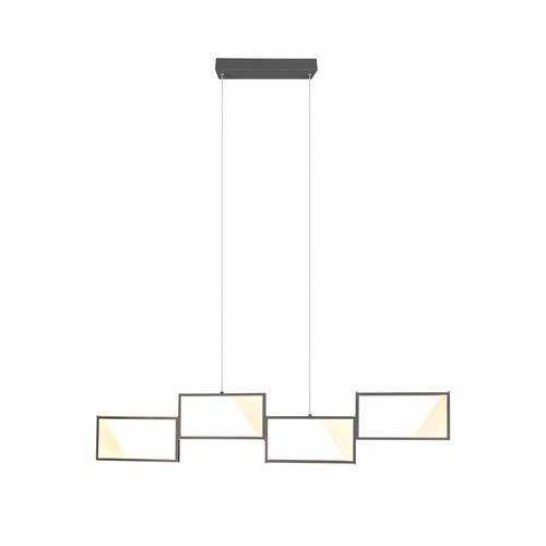 Trio Cafu 323210442 lampa wisząca zwis 1x28W LED antracytowa (4017807460179)