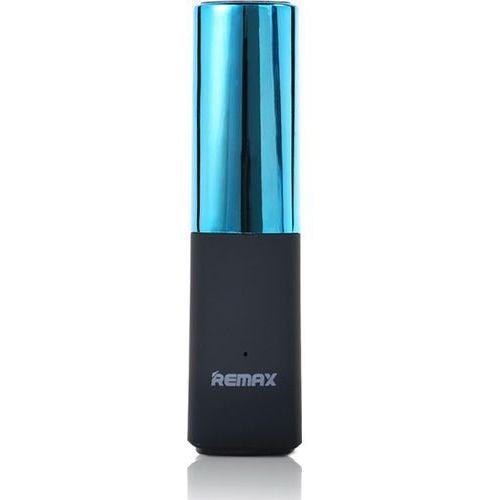 powerbank 2400 mah lipstick, niebieski marki Remax