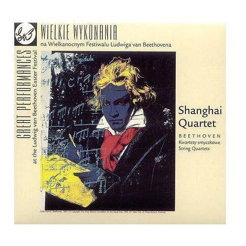 BEETHOVEN:KWARTETY SMYCZKOWE - Shanghai Quartet (Płyta CD), ACD1582
