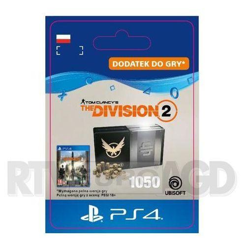 Tom Clancy's The Division 2 - Pakiet 1050 Kredytów [kod aktywacyjny] PS4, SCEE-XX-S0044079