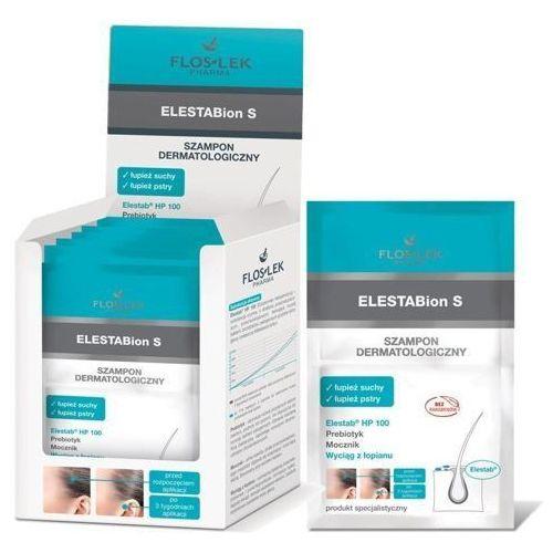 Floslek elestabion s szampon dermatologiczny - łupież suchy i pstry 2 x 8ml saszetka