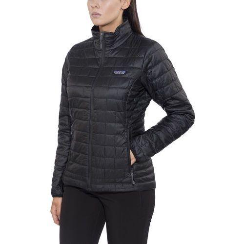 nano puff kurtka kobiety czarny 34-36 2018 kurtki wspinaczkowe marki Patagonia