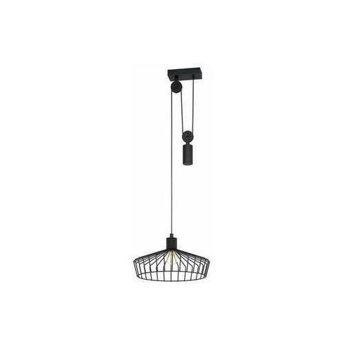 Eglo winkworth 43437 lampa wisząca zwis 1x40w e27 czarna