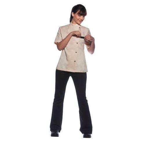 Bluza kucharska damska, rozmiar 40, kremowa   KARLOWSKY, Greta