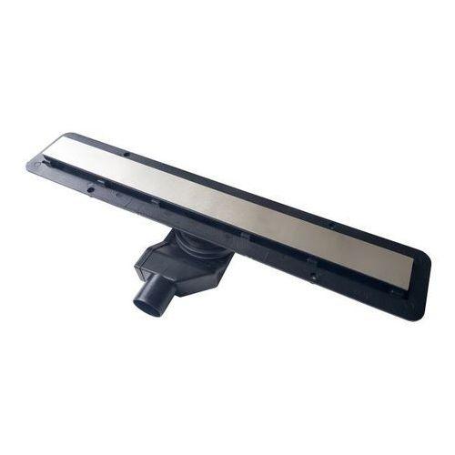 Odpływ liniowy black glass 650 mm fi 50 mm marki Durasan