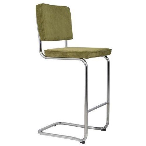 Zuiver stołek barowy ridge kink rib zielony 25a 1500010 (8718548013810)